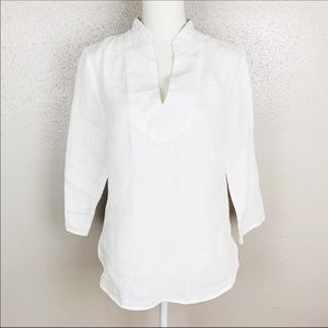 Cynthia Rowley Linen Top Small